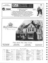 Homer Township Owners Directory, Ad - Bob's Heating and Cooling Inc., Hoff Funeral Homes, Winona County 2004